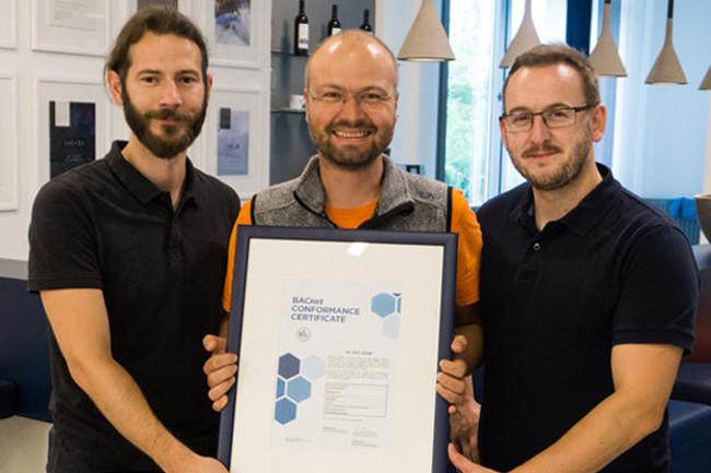 BACnet-Zertifikat mit zenon für Smart Buildings | SATOMEC AG Automation Systems