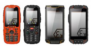 ATEX Smartphone für Zone 1/21 & 2/22