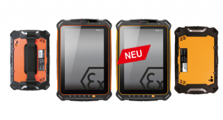 ATEX Tablet für Zone 1/21 & 2/22